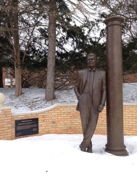 Ronald Reagan at Hillsdale College